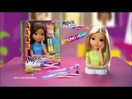 moxie girlz magic hair color studio u0026 styling head mga
