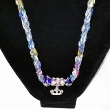 Crown Royal Gift Set Crown Royal Necklace And Bracelet Set Handmade Jewelry Knitted