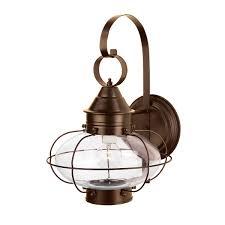 norwell lighting 1324 large cottage onion wall lamp black