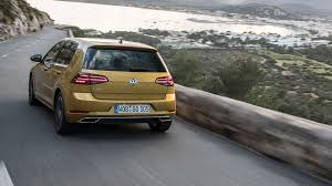 volkswagen thing in water vw golf 1 5 tsi evo 150 dsg 2017 review by car magazine