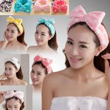 korean headband korean shower ribbon headband women s fashion on carousell