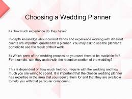 how to be a wedding planner choosing a wedding planner 8 638 jpg cb 1372329742