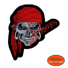 halloween patches rebel pirate skull patch biker jacket vest amt custom shop