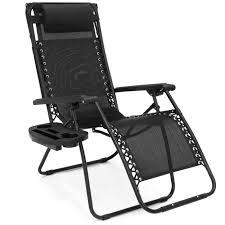 folding zero gravity recliner lounge chair w canopy shade
