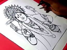 how to draw lord vishnu drawing step by step for kids youtube