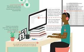 posture bureau organisation posture les conseils pour être bien au bureau