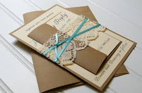 design your own wedding invitations template blue design with