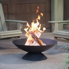 Wood Burning Firepit Wood Burning Pits Hayneedle