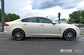 jaguar custom jaguar xf with 22in lexani css8 wheels exclusively from butler