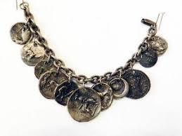 vintage bracelet ebay images Coin bracelet ebay JPG