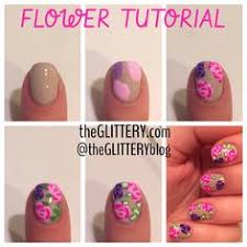 within color easy peasy flower nail art tutorial nail tutorials