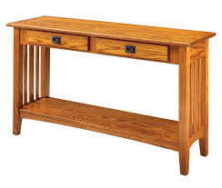 Oak Sofa Table Sofa Table Design Best Collection Oak Mission Sofa Table Light