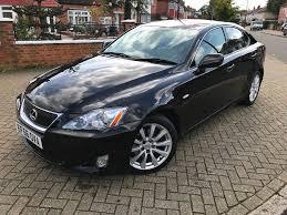 lexus black 2006 56 lexus is 250 2 5 petrol automatic black with creme