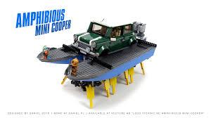 lego mini cooper sariel pl amphibious mini cooper