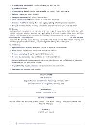 Example Of Accountant Resume by Accounting Resume Example