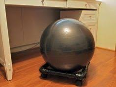 Yoga Ball Desk Chair by Padded Hood Construction Part 1 And Part 2 Http