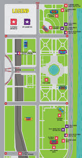 Bad Parts Of Chicago Map Lollapalooza Platinum U2013 Lollapalooza
