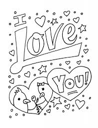 amazing and lovely coloring pages i love you regarding property