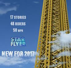 Six Flags In Denver New For 2017 Star Flyer Elitch Gardens Theme And Water Park