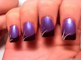 purple and black acrylic nail designs nailartdesignsidea info via