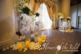 wedding altar flowers flowers of the field celebrates robert cheryl s wedding