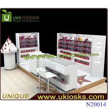 nail kiosk with nail polish display stand mdf nail salon