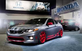 bisimoto odyssey engine honda shows 2013 accord hfp coupe alongside 401 hp bisimoto coupe