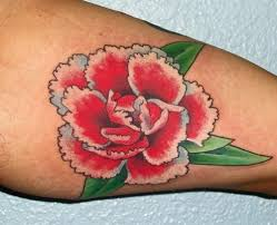 blue carnation tattoo pictures to pin on pinterest tattooskid