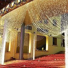 Wedding Home Decoration 304led 9 84ft9 84ft 3m3m Window Curtain String Lights Wedding Home