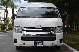 clasimex toyota hiace 2014 15 pasajeros 4 cilindros manual