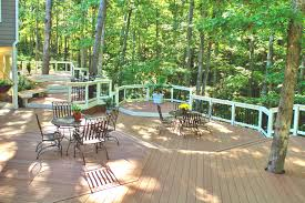 Patio Around Tree Trees In Deck Design Archadeck Custom Decks Patios Sunrooms