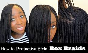 What Kind Hair Use Boxbraids | how to box braid your own hair feather tips and seal box braids ends
