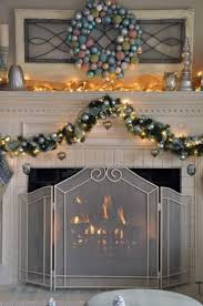 Decorating With Christmas Lights Year Round 912 Best Christmas Mantels Images On Pinterest Christmas Ideas