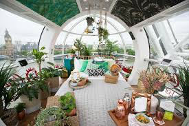 tiny home interior design london eye capsule transformed into rainforest inspired tiny home
