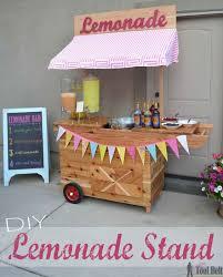 23 joyful diy lemonade stands to build happily homesthetics