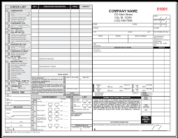 Hvac Estimate Template by Heating Airconditioning Service Form