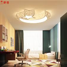 Sitting Room Lights Ceiling Shop Creative Half Moon Led Ceiling Light 85 265v 24w