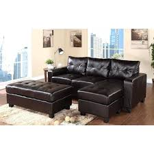 white leather sectional sofa with chaise ottoman white leather sectional with ottoman oversized sectional