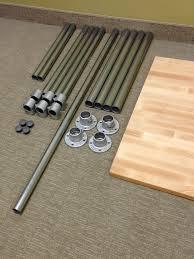 build adjustable table legs sitting standing desk adjustable height finished basement