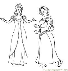 shrek coloring page 11 coloring page free sakura coloring pages