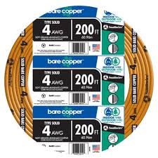 4 wire electrical the home depot