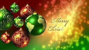 christmas background loop rotating christmas decorations and