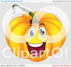 free to use halloween background cartoon of a happy halloween pumpkin mascot royalty free vector