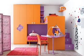 Cool Bedroom Designs For Teenagers Furniture Orange Desk Chairs For Teens With Red Rug And Cool Bed