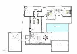 plan maison contemporaine plain pied 4 chambres plan maison plain pied 4 chambres garage beautiful cuisine