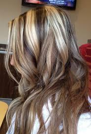 platinum blonde and dark brown highlights photo platinum blonde highlights on dark blonde hair blonde