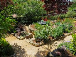 mediterranean garden with raised vegetable beds archives magic