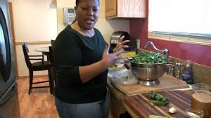 thanksgiving smoked turkey recipe collard greens with smoked turkey wings and cornbread cooking