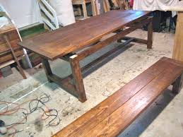 Farm Tables With Benches New And Improved Farmhouse Table Details Tommy U0026 Ellie