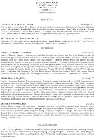 college golf resume best resume collection